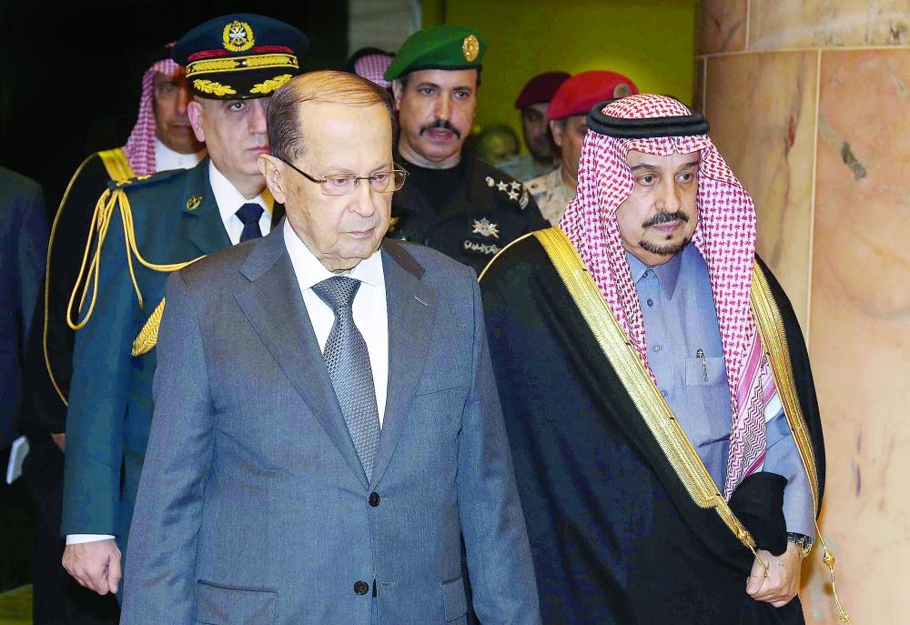 قمة سعودية - لبنانية في الرياض.. اليوم - صحيفة عكاظ