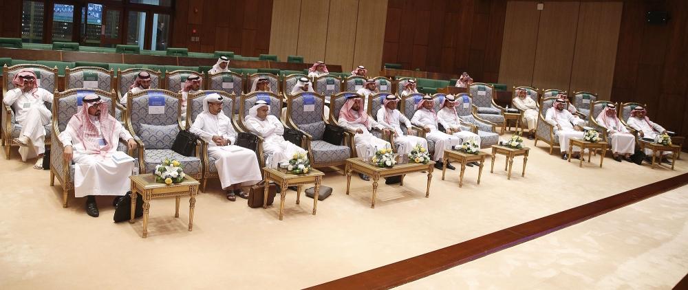 عدد من الحضور في الدورة السابقة. (تصوير: عبدالعزيز السلامة)