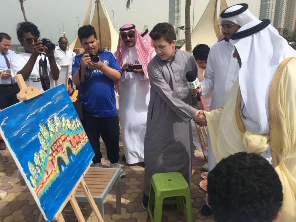 الثقفي يدشن مسابقة  فنون جدة  - أخبار السعودية   صحيفة عكاظ