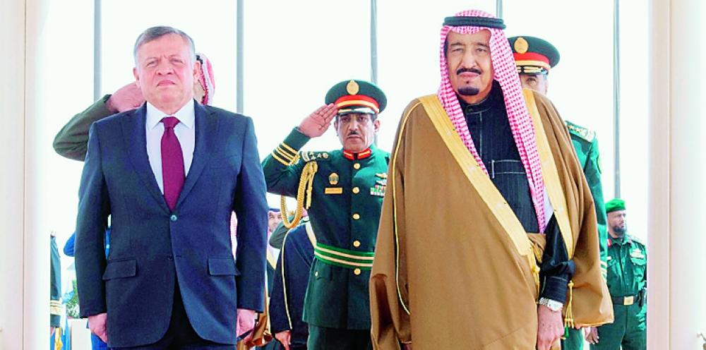 الملك سلمان في قصر بسمان اليوم.. تجديد الشراكة الإستراتيجية - أخبار السعودية   صحيفة عكاظ