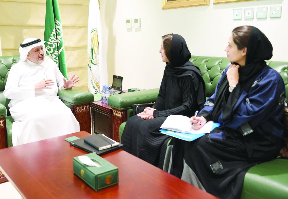الربيعة يطلع ممثلة اليونيسيف على مساعدات مركز الملك سلمان - أخبار السعودية   صحيفة عكاظ