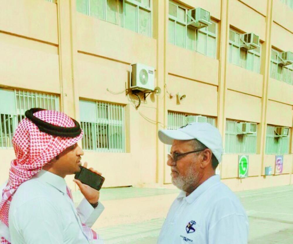 المعلم النعماني. (تصوير: خير الله الزهراني)