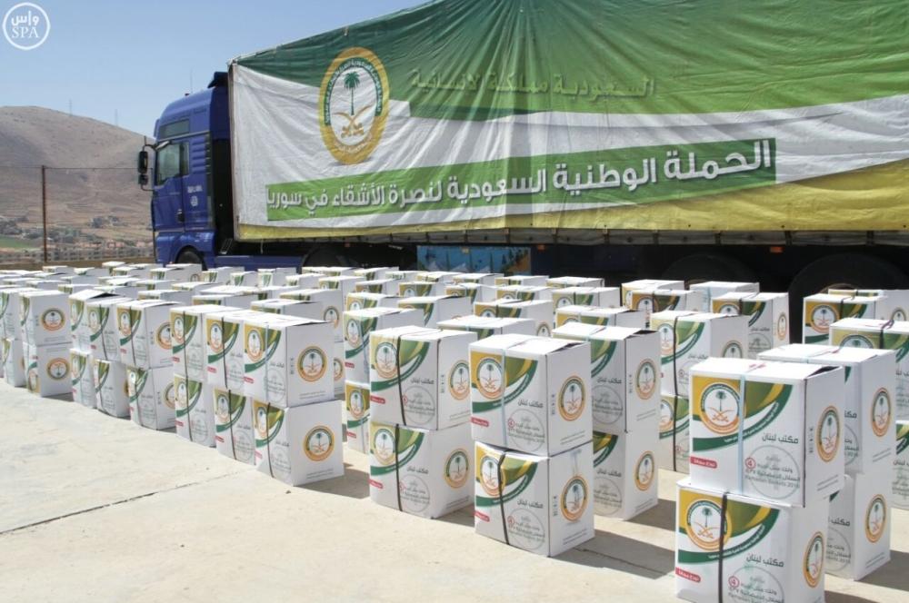 مركز الملك سلمان يواصل توزيع وجبات إفطار الصائم على اللاجئين السوريين في لبنان - أخبار السعودية   صحيفة عكاظ