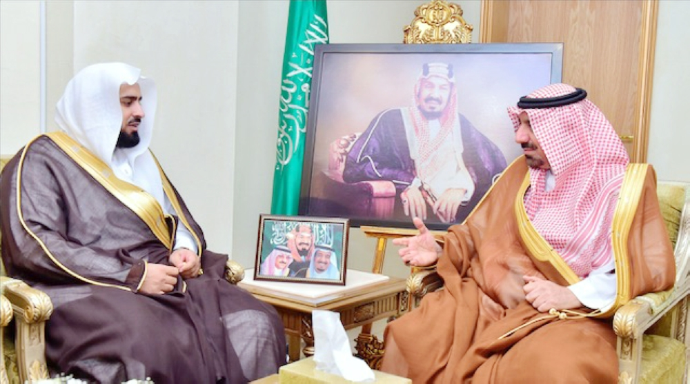 أمير نجران لرئيس الهيئة الجديد: أوصيكم بصون الوحدة وبث التسامح - أخبار السعودية   صحيفة عكاظ
