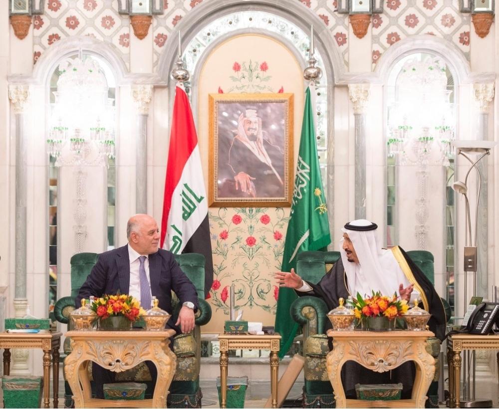 خادم الحرمين يعقد جلسة مباحثات مع رئيس وزراء العراق - أخبار السعودية   صحيفة عكاظ