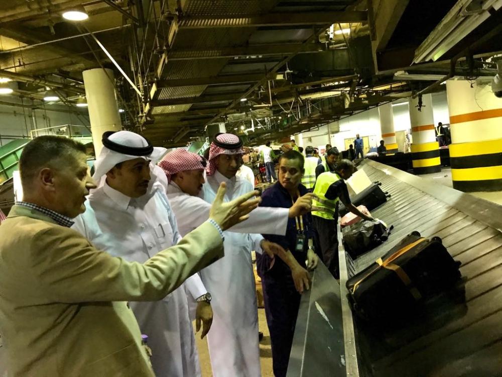 الجاسر يتفقد خدمات  السعودية  بمطار الرياض واستعدادات الصيف - أخبار السعودية   صحيفة عكاظ