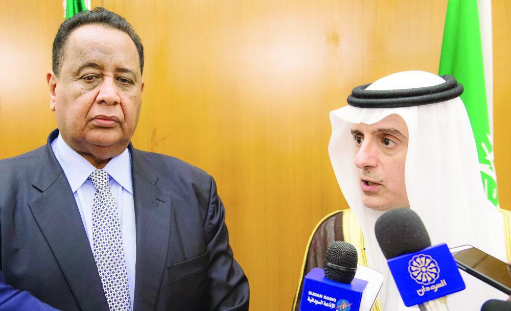الجبير: المملكة مستمرة في جهودها لرفع العقوبات عن السودان
